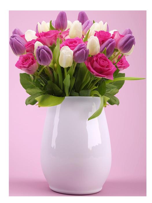 Saisonale Schnittblumen